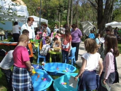 A Föld Napja program a Tettyén a Duna-Dráva Nemzeti Park szervezésében