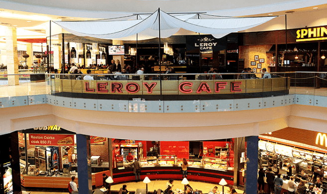 Leroy Cafe Arena Mall Budapest