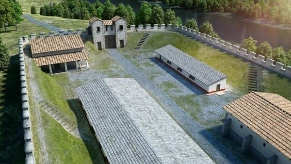 Lussonium - Római kori erőd