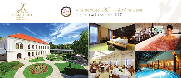 Anna Grand Hotel**** Wine & Vital Balatonf�red