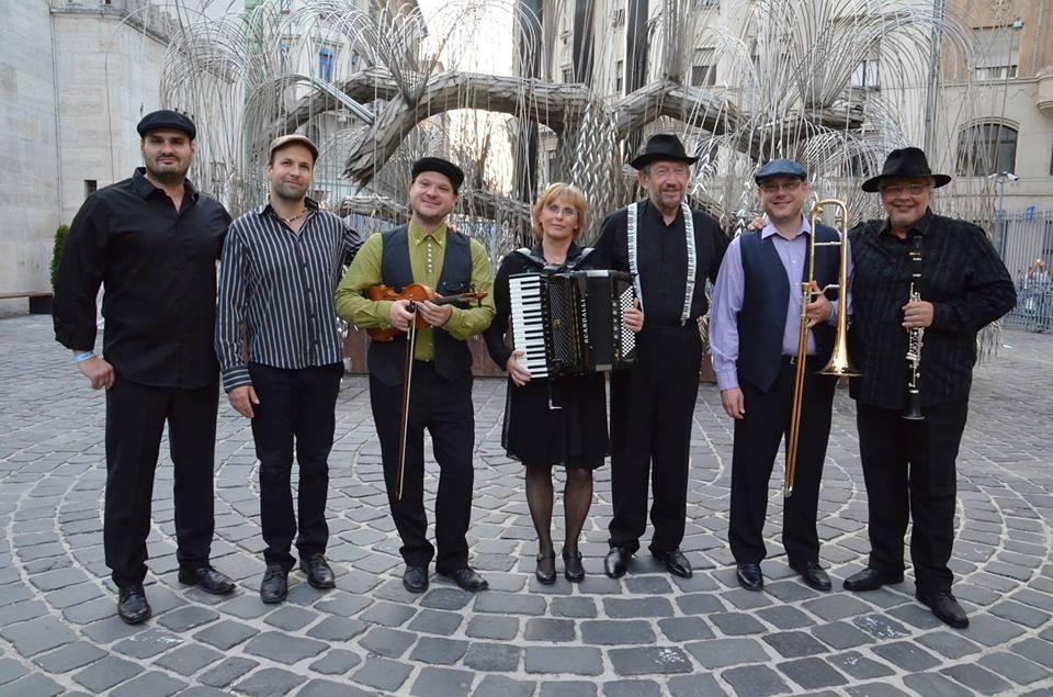 Budapest Klezmer Band jótékonysági koncertje