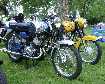 motorkerékpár találkozó helyén