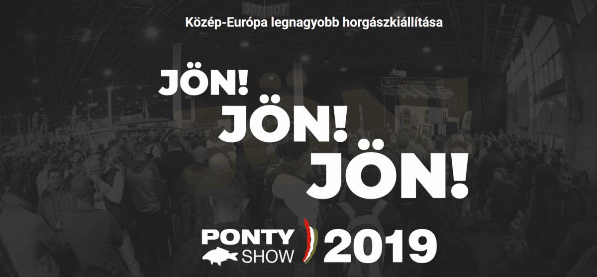 e1cba8a512 PontyShow 2019. Horgász kiállítás és vásár Budapest, Hungexpo ...