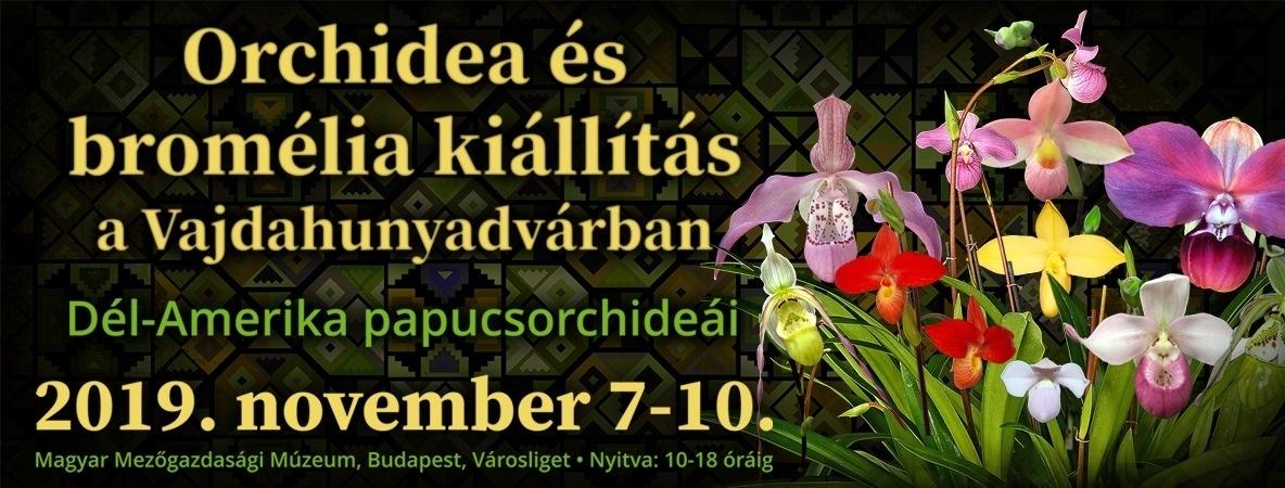 8fc1c5fa90 Orchidea és Bromélia Kiállítás és Vásár 2019 Vajdahunyadvár Budapest ...