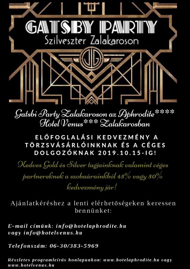 8568a9a02c Zalakarosi szilveszteri programok zenével, tánccal a Venus Hotelben ...