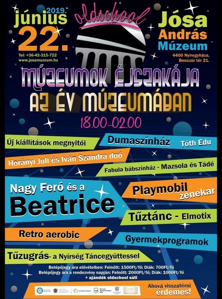 Múzeumok Éjszakája Nyíregyháza 2019. Jósa András Múzeum