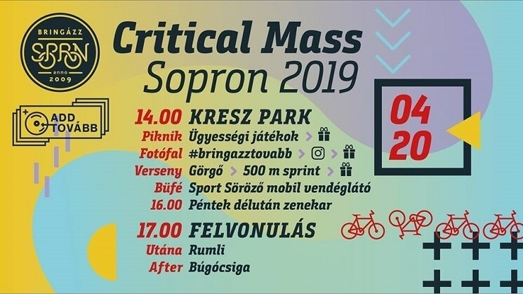 Critical Mass Sopron 2019
