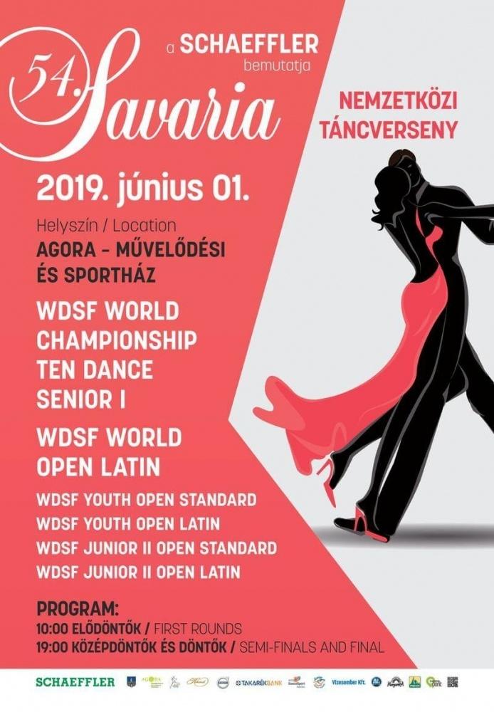 Savaria Nemzetközi Táncverseny Szombathely 2019