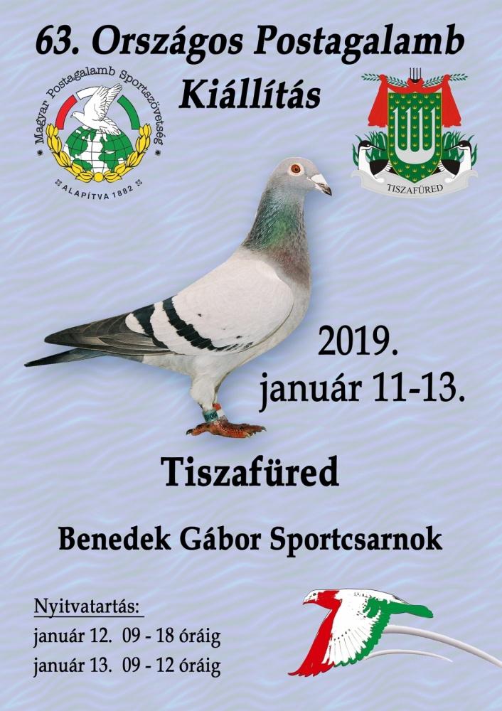Országos Postagalamb Kiállítás 2019