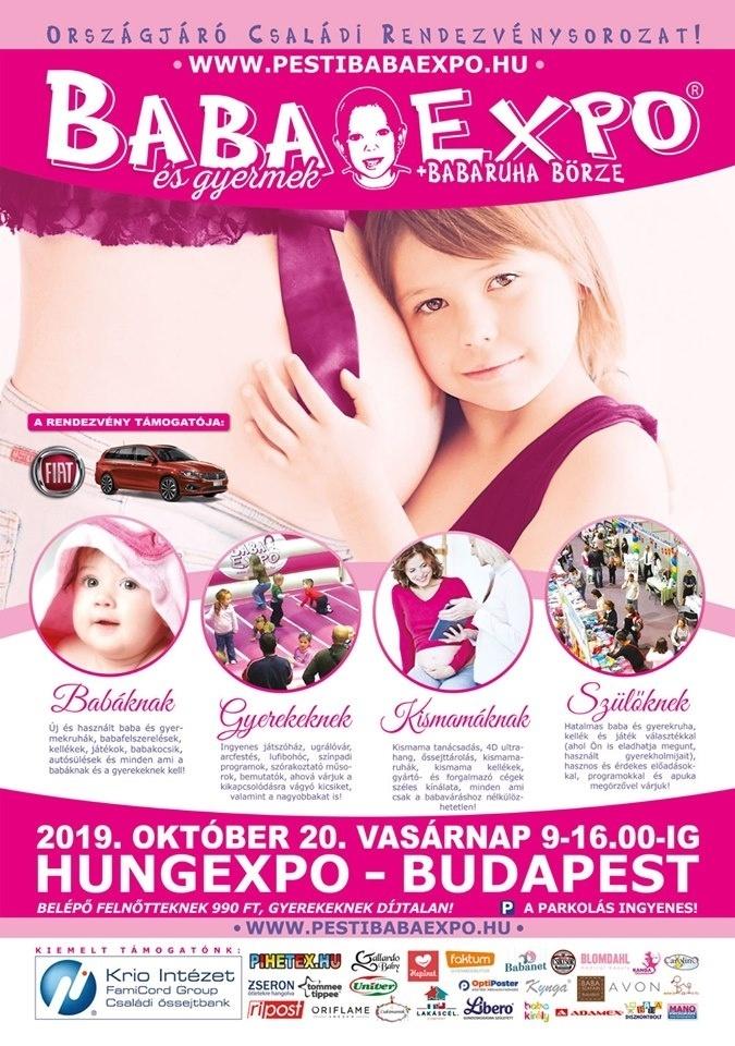 Bababörze Budapest 2019. Baba-Expo Kiállítás és Vásár családi rendezvény a  Hungexpo területén fae71da11f
