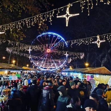 Karácsonyi Ünnepi Hetek  Szeged 2019 Széchenyi tér
