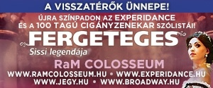 ExperiDance: Fergeteges - Sissi legendája  - Ram Colosseum