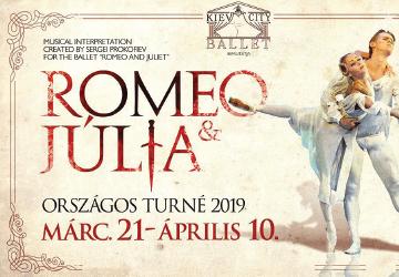 Kiev City Ballet - Rómeó és Júlia előadás a Kölcsey Központban 2019. Online  jegyek! 65dc2113a0