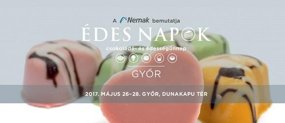 Édes Napok 2017. május 26-28. Győr